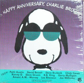 Dave Brubeck / B.B. King /  ‎Dave Grusin / Chick Corea / Patti Austin / Gerry Mulligan – Happy Anniversary, Charlie Brown! - VG+ 1989 Stereo USA Original Press PROMO - Jazz
