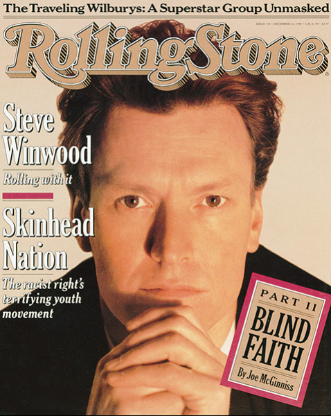 Rolling Stone Magazine - Issue No. 540 - Steve Winwood
