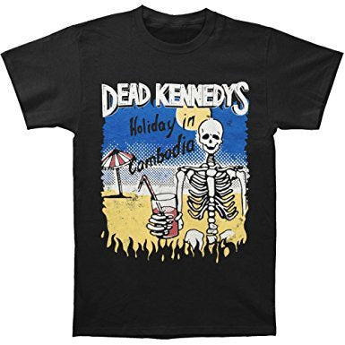 Dead Kennedys Cambodian Skeleton T-Shirt