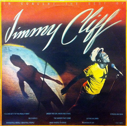 Jimmy Cliff - In Concert The Best Of - Mint- 1976 Stereo USA Original Press - Reggae/Roots