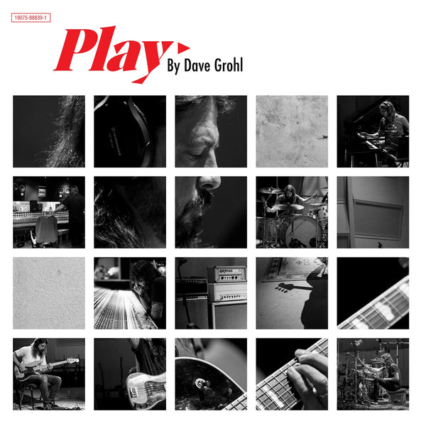 "Dave Grohl ‎– Play - New Vinyl 12"" 2018 Roswell Limited Edition 180gram Pressing with Die-Cut Gatefold Jacket - Rock"