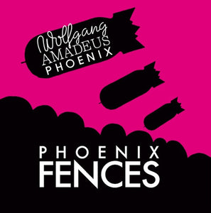 "Phoenix ‎– Fences - New 12"" Single Record Store Day 2010 Glassnote USA RSD Pink Vinyl - Pop Rock"