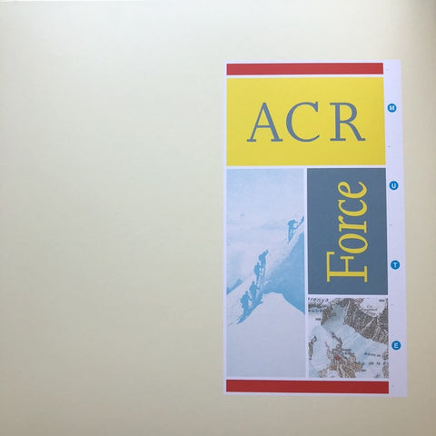 A Certain Ratio - Force (1986) - New Vinyl 2017 Mute Limited Edition Reissue on Yellow Vinyl with Download - Electronic / Leftfield