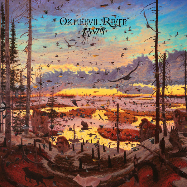 Okkervil River - Away - New Vinyl 2016 ATO Records Limited Edition 2-LP Gatefold on Colored Vinyl + Download - Indie / Folk-Rock / Alt-Country