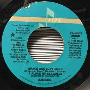 "A Flock Of Seagulls- Space Age Love Song / Windows- M 7"" Single 45RPM- 1982 Juve USA- New Wave/Synth-Pop"