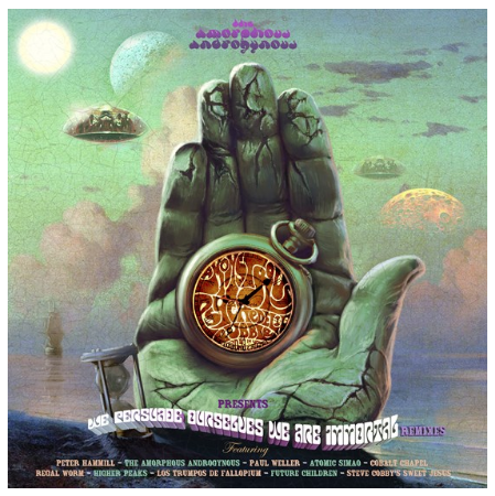 The Amorphous Androgynous ‎– We Persuade Ourselves We Are Immortal Remixes - New Lp Record Store Day 2020 UK FSOL RSD Numbered Vinyl - Psychedelic Rock / Electronic