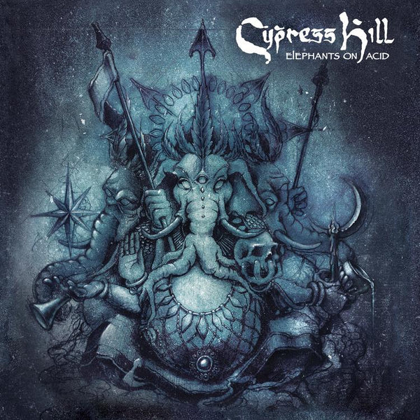 Cypress Hill ‎– Elephants On Acid - New Vinyl 2 Lp 2018 BMG 'Indie Exclusive' on Clear Blue/Grey 180gram Vinyl with Gatefold Jacket and CD Copy - Hip Hop