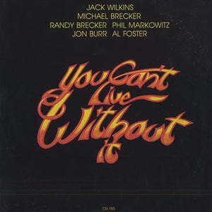 Jack Wilkins ‎– You Can't Live Without It - VG+ Lp Record 1977 USA Original Vinyl - Jazz
