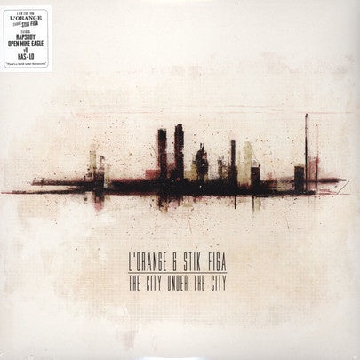 L'Orange & Stik Figa ‎– The City Under The City - New LP Record 2013 Mello Music USA Vinyl - Hip Hop