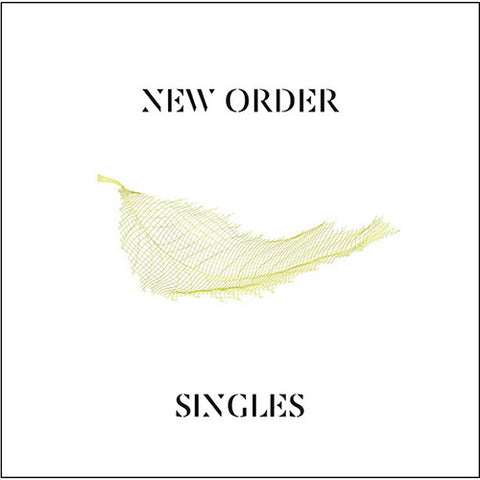 New Order - Singles (2015 Remaster) - New Vinyl Record 2016 4-LP Boxset, First Time on Vinyl! - Darkwave / Synthpop / Dance-Rock