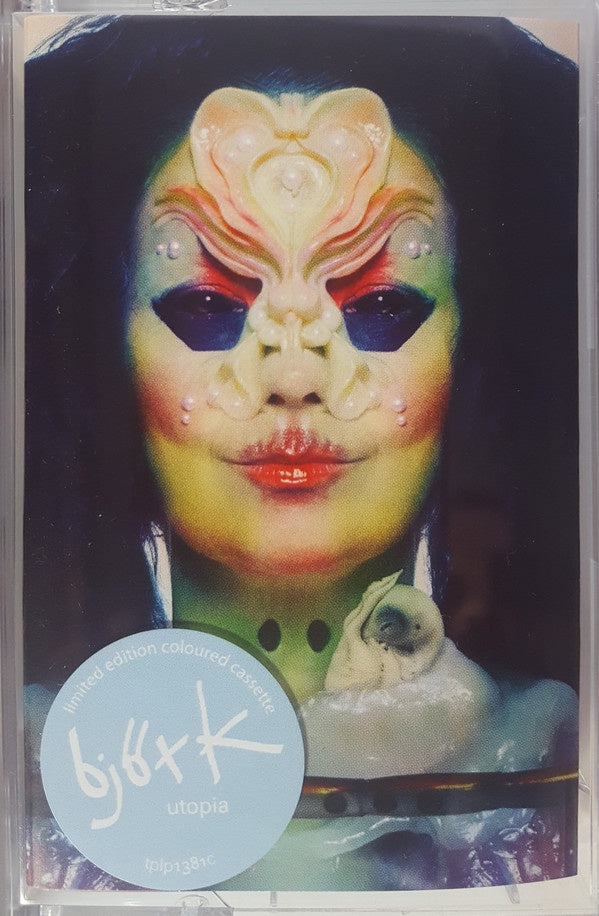Björk ‎– Utopia- New Cassette 2019 Limited Edition Color Tape Reissue UK Import - Electronic / Experimental
