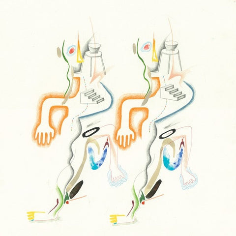 Animal Collective ‎– The Painters EP - New Lp Record 2017 USA 45 - Psych / Electronica / Experimental