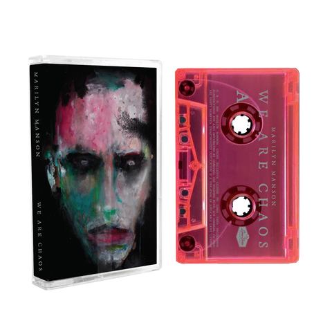 Marilyn Manson - WE ARE CHAOS - New Cassette 2020 Loma Vista USA Fluorescent Pink Tape - Rock