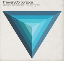 Thievery Corporation ‎– Treasures From The Temple - New Vinyl 2 Lp 2018 Eighteenth Street Lounge Music Pressing with Download - Electronic / Downtempo