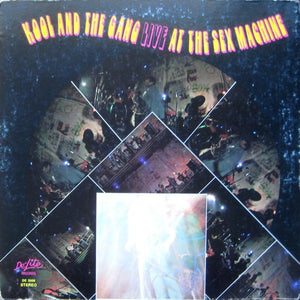 Kool And The Gang ‎– Live At The Sex Machine - Mint (Still Sealed) Lp Record 1971 USA Original Vinyl - Soul / Jazz-Funk