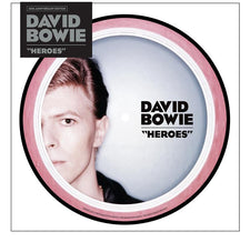 "David Bowie - Heroes - New 7"" Vinyl 2017 Parlophine 40th Anniversary Edition Picture Disc - Art Rock"