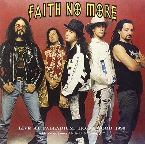 Faith No More - Live At Palladium, Hollywood 1990 - New Vinyl Record 2015 DOL EU 180gram Pressing, feat. Ozzy, James Hetfield & Young MC - Alt-Rock
