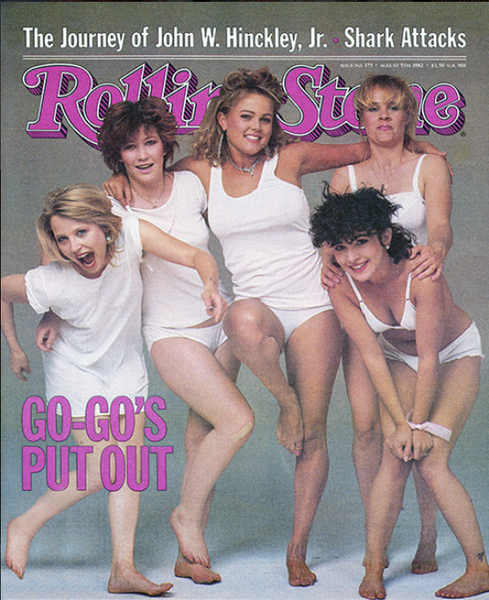 Rolling Stone Magazine - Issue No. 375 - The Go-Go's