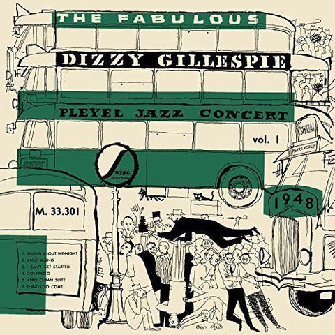 Dizzy Gillespie ‎– The Fabulous Pleyel Jazz Concert vol. 1 - 1948 (1964) - New Lp Record 2017  Disques Vogue Europe Import Green & White Marble Vinyl - Jazz / Bop