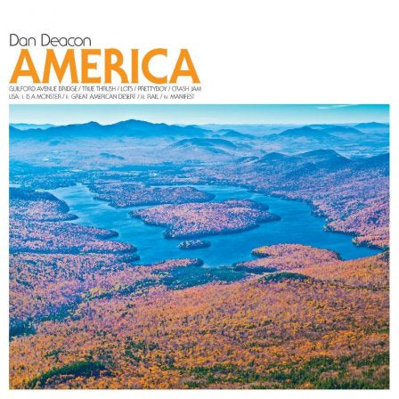 Dan Deacon ‎– America - New Cassette 2012 Domino Blue Tape with Download (Limited to 500!) - Electronic