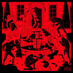 Swizz Beatz ‎– Poison - New Lp 2019 Epic Limited Pressing on Red with Black & White Splatter Vinyl - Hip Hop