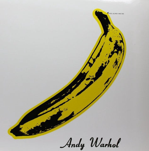 The Velvet Underground & Nico - New Lp Record 2017 USA 180 gram Vinyl & Book & Banana Sticker, Original Back Cover 'Torso' Photo - Art Rock / Psychedelic Rock