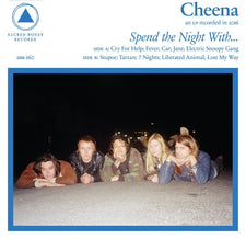 Cheena - Spend The Night With... - New Vinyl - 2016 Sacred Bones FFO: Iggy Pop and The New York Dolls - Post-Punk