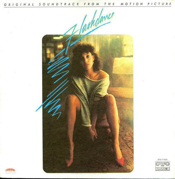 Various - Flashdance (Original From The Motion Picture) - Mint- (VG- Cover) 1985 Stereo (Bulgaria Import) - Soundtrack