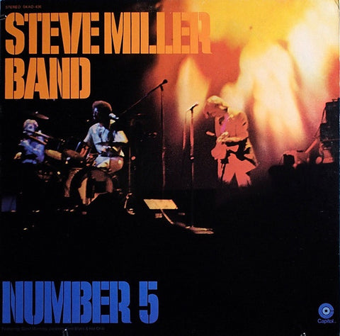 The Steve Miller Band - Number 5 (1970) - New Lp Record 2018 Capitol 180 gram Vinyl - Psychedelic Rock/ Blues Rock