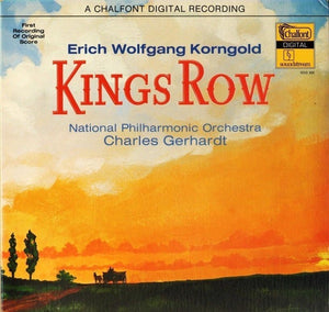 Erich Wolfgang Korngold - National Philharmonic Orchestra, Charles Gerhardt ‎– Kings Row - Mint- Lp Record 1979 USA Original Vinyl - Musical Score