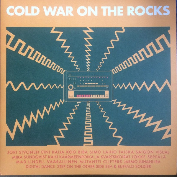 "Various ‎– Cold War On The Rocks: Disco And Electronic Music From Finland 1980–1991 - New 2 LP Record 2019 Svart Black Vinyl & Bonus 7"" Single - Synth-pop / Disco"