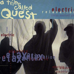 A Tribe Called Quest – Electric Relaxation (Relax Yourself Girl) - VG+ 1994 USA (Promo) - Hip Hop - Shuga Records Chicago
