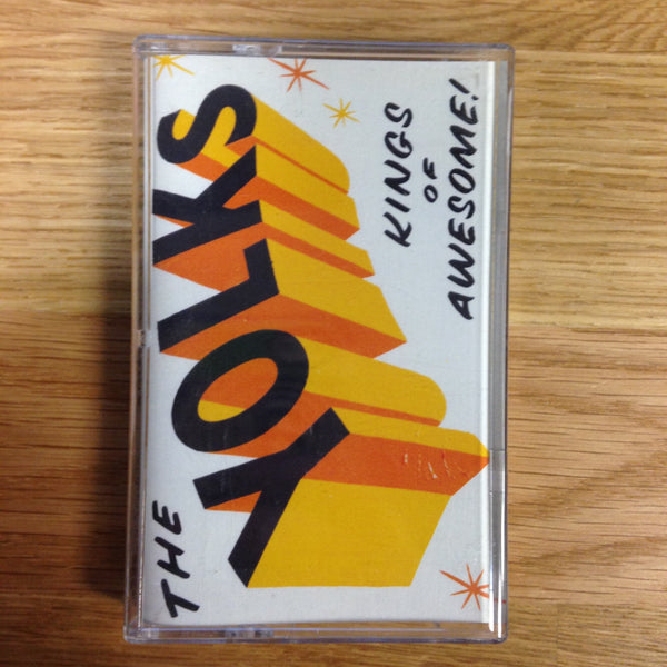 The Yolks - Kings Of Awesome! - New Cassette - 2014 Randy Records - Chicago / Punk / Garage