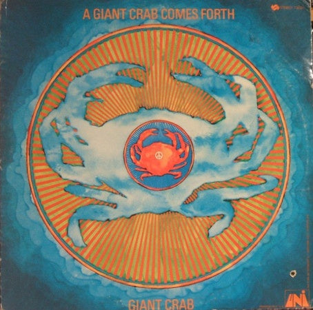 Giant Crab ‎– A Giant Crab Comes Forth - VG+ Lp Record 1968 USA Original Vinyl - Rock / Soul / Psychedelic
