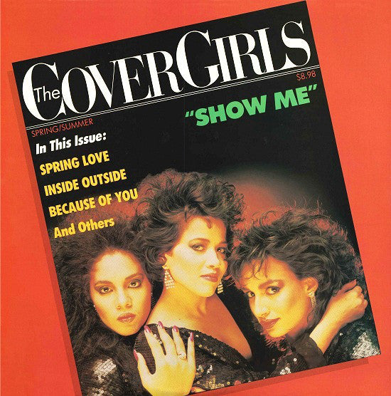 The Cover Girls ‎– Show Me - VG+ LP Record 1987 Fever USA Vinyl - Synth-Pop