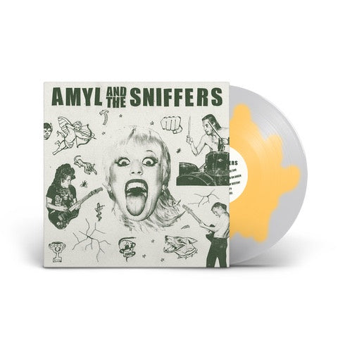 Amyl and The Sniffers - Amyl and The Sniffers - New Lp 2019 ATO Records Indie Exclusive 'Egg Edition' with Download - AUS Punk