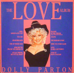 Dolly Parton - The Love Album - Mint- 1983 Stereo (German Import) - Country