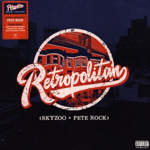 Skyzoo + Pete Rock ‎– Retropolitan - New LP Record 2019 Mello Music Group Black Vinyl - Hip Hop