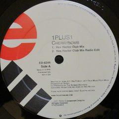 "1 Plus 1 - Cherry Bomb! Mint- - 12"" Single 2000 Elektra USA - House"