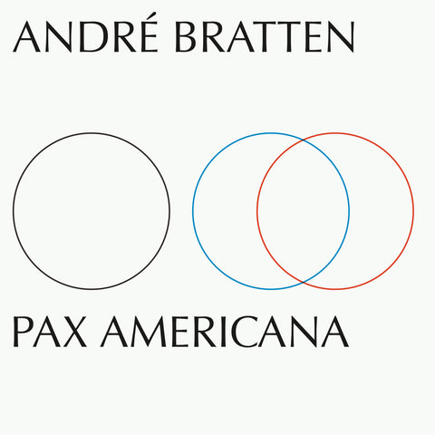 André Bratten ‎– Pax Americana - New Vinyl LP Record Smalltown Supersound 2019 - Techno / Ambient