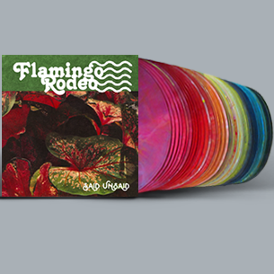 Flamingo Rodeo - Said Unsaid - New Lp Record 2018 1st Pressing on Strung Out Rainbow Colored Vinyl & Signed  & Numbered to 88 - Chicago, IL Psych / Soft Rock / Country Rock