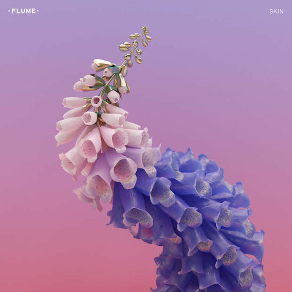 Flume - Skin - New Vinyl 2016 Mom + Pop USA Black Vinyl 'Standard' Pressing 2-LP + Download - Electronic / Downtempo / Experimental Dub