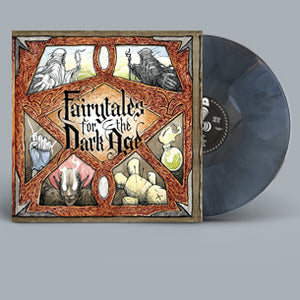 The Footlight District ‎–Fairytales For The Dark Age - New Lp Record 2019 Shuga Records Iron Fist Colored Vinyl, Poster, Insert, Signed & Numbered - Rock & Roll