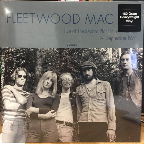Fleetwood Mac - Live at The Record Planet in Los Angeles (September 19,1974) - New Vinyl Record 2017 DOL 180gram EU Import