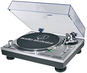Used Audio-Technica AT-LP120-USB Direct-Drive Silver Turntable Record Player