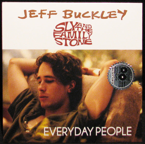 "Jeff Buckley / Sly & The Family Stone ‎– Everyday People - New 7"" Single 2015 Record Store Day Black Friday Vinyl - Soul"