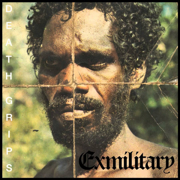 Death Grips - Exmilitary (2011) - New Vinyl 2 Lp Set Limited Edition (France Import On Clear Black Smoke Vinyl) - Bitchin - Hardcore Hip-Hop