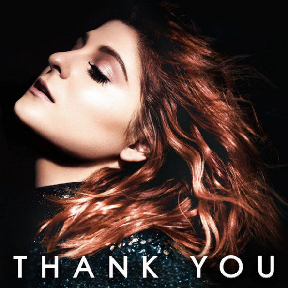 Meghan Trainor - Thank You - New 2 Lp Record 2016 Epic USA Black / White Split & Pink / White Split Vinyl & Download - Pop / Reggae-Pop