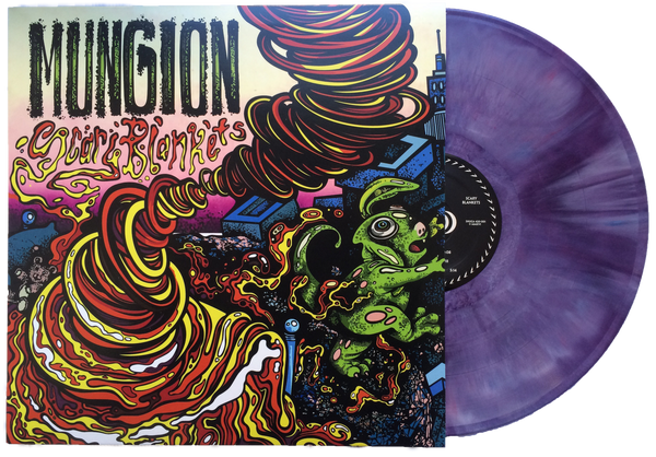 Mungion - Scary Blankets - New Limited Edition Alien Brain Purple Colored Vinyl Record 2016 Shuga Records Exclusive - 100 Numbered - Chicago Progressive Jam Band