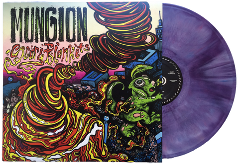 Mungion - Scary Blankets - New LP Record Limited Alien Brain Purple Colored Vinyl 2016 Shuga Records - Chicago Progressive Jam Band